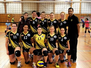 L'équipe de nationale 3 féminine du VBB PAM