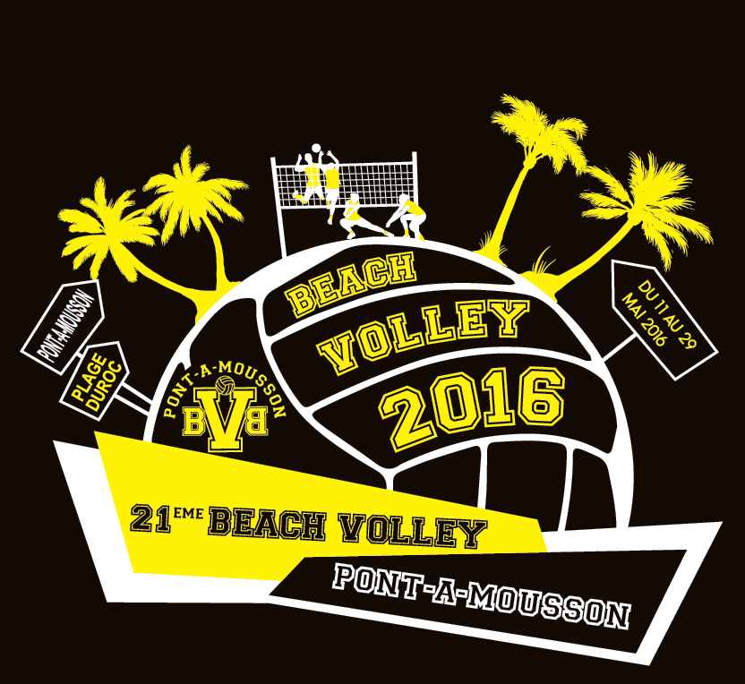 Logo du Beach Volley 2016